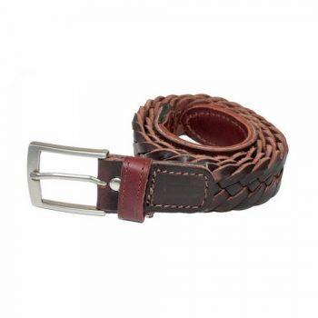 Cinturon Trenzado Vaqueta 2